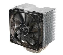 4 heatipe 4pin PWM for LGA 775/1150/1155/1156/1366 for FM1/AM3+/AM2+/940/939/754 radiator CPU Fan CPU cooler iceblade player