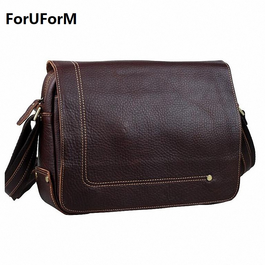 New Designer first layer cow leather men bag 100% genuine leather crossbody bag men's messenger bag shoulder bags casual LI-1251 household mouth shape 2pcs toothpaste squeezers