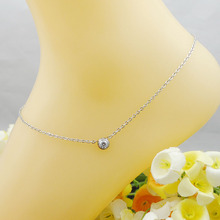 Dolaime New anklet woman sexy simple stainless steel leg accessory jewelry classic simple style 2017 GA003