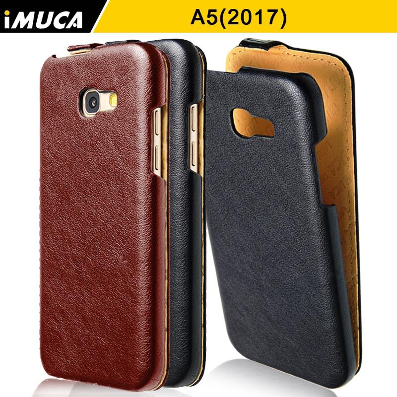 Caso iMUCA Para Samsung Galaxy A5 2017 Caso de la Cubierta Del Tirón de Lujo Caj