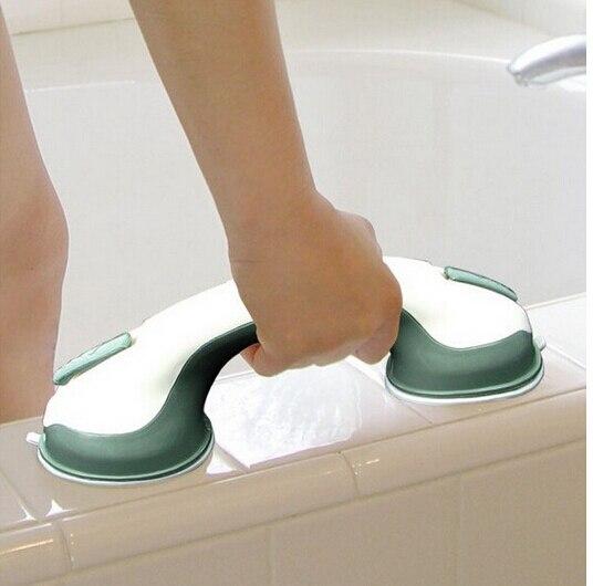 nuovo arrivo potente ventosa grab bar parete hanger accessori per il bagno corrimano bagno vasca da
