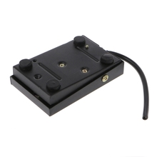 цена на AC 250V 10A Heavy Duty Metal Momentary Electric Power Antislip Foot Pedal Switch