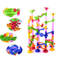 105PCS DIY Construction Marble Race Run Maze Balls Track Building Blocks E20085