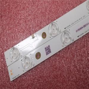 Image 4 - New Kit 16 PCS 7LED LED backlight strip for Panasonic TV TX 55AX630B TX 55AX630E TX 55DX600B TB5509M 550TV01 550TV02 V4