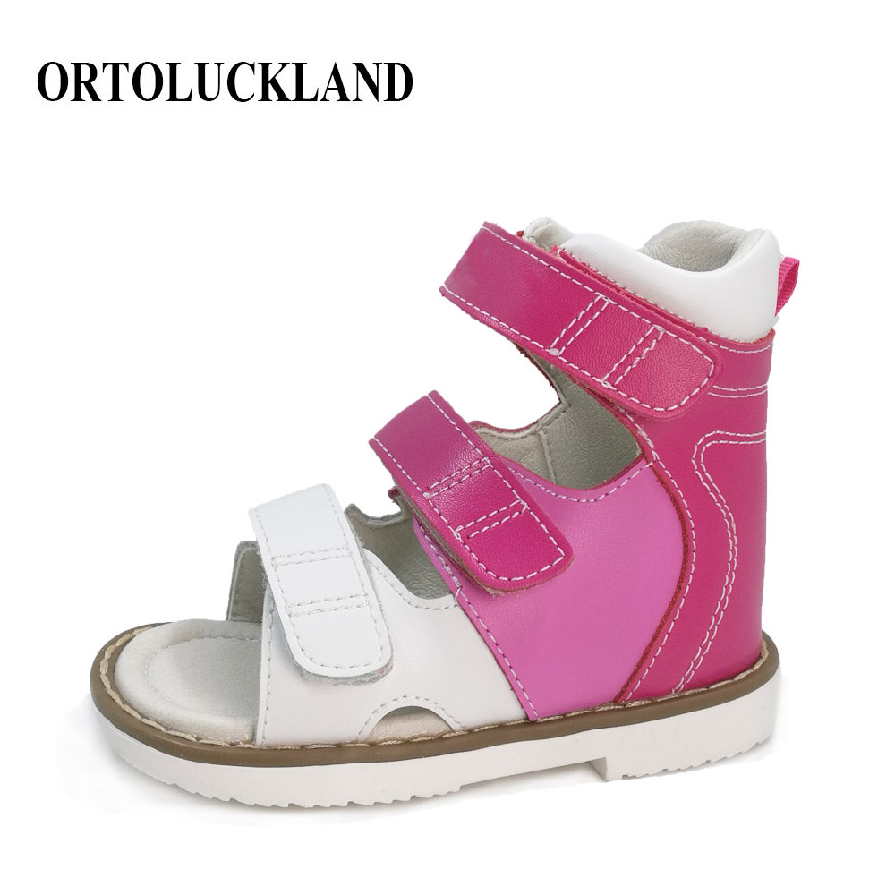 Fashionable children sandals orthopedic shoes baby casual sandals girls princess sandals Orthopedic footwear for kids