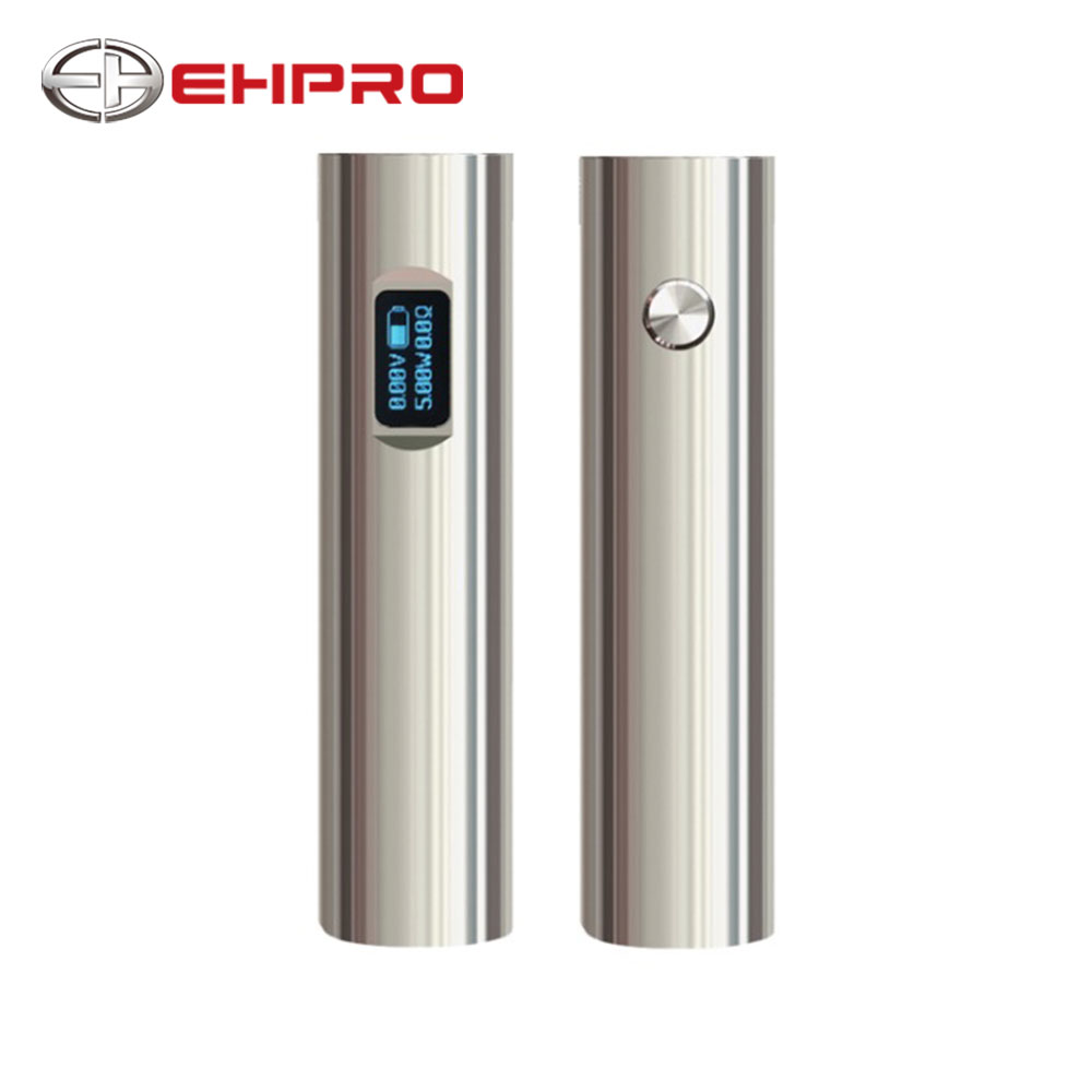 Nuovo Ehpro 101 TC Penna-stile Mod 50 w di Uscita NO 18350/18650 Batteria 0.49 pollice OLED per Ehpro Dripper RDA/101D Kit di E-cig Vape MOD