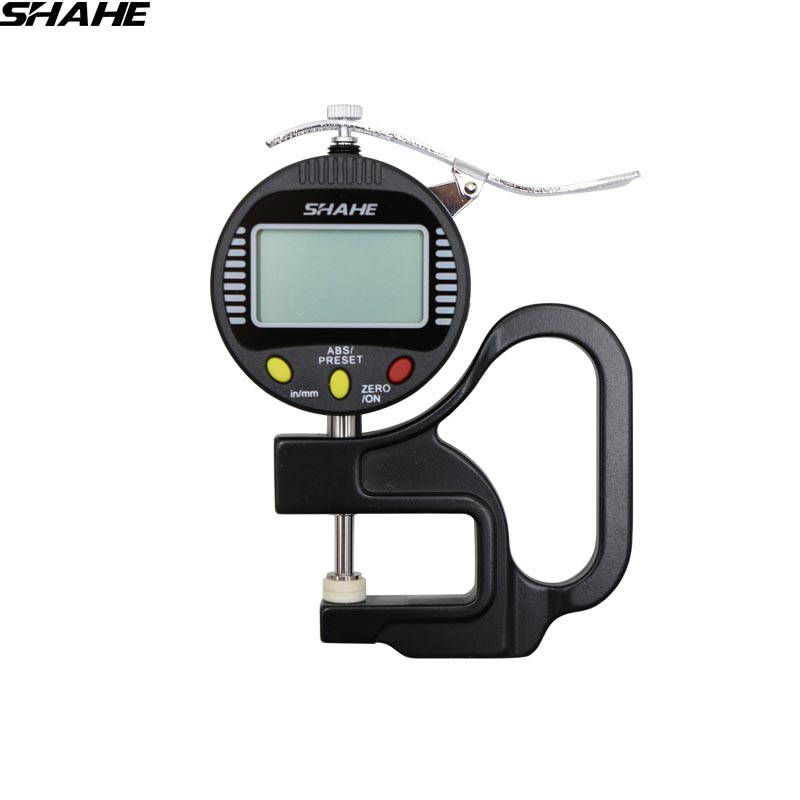 0 001mm High Accuracy Electronic Digital Thickness Gauge 10mm 0 0 4 leather thickness gauge paper