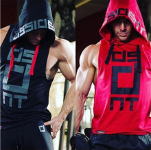 Sleeveless Hood Slim Trend High-Quality T-Shirt For Men
