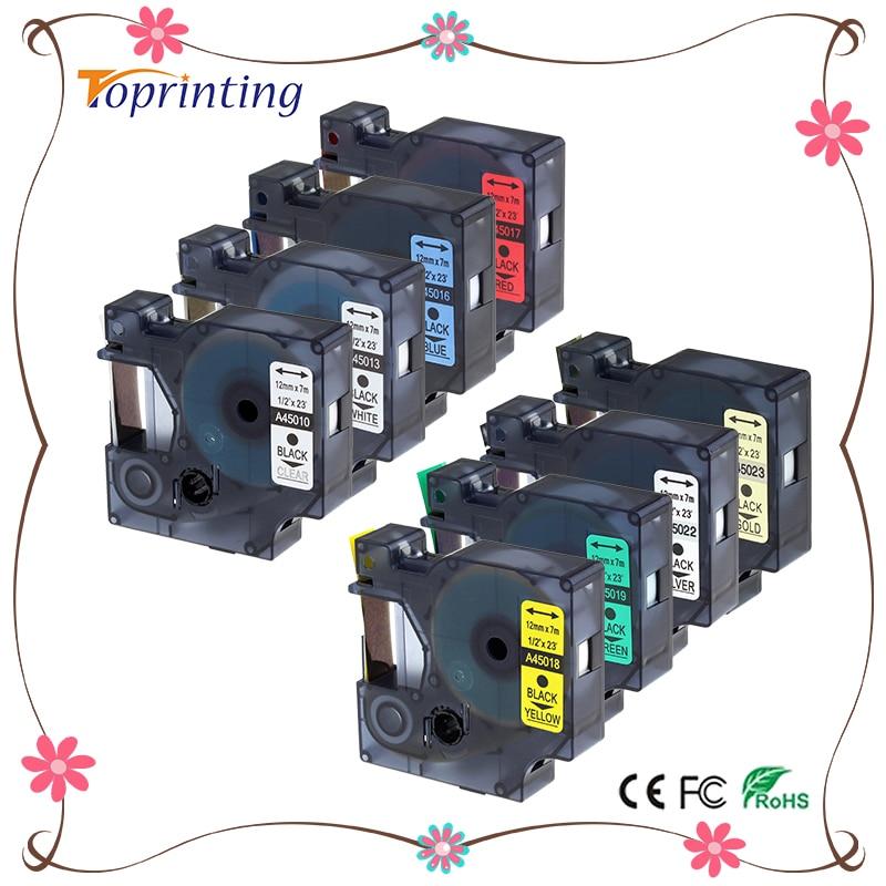 Fitas para Impressora labelife 8 pacote combo set Característica : Compatível