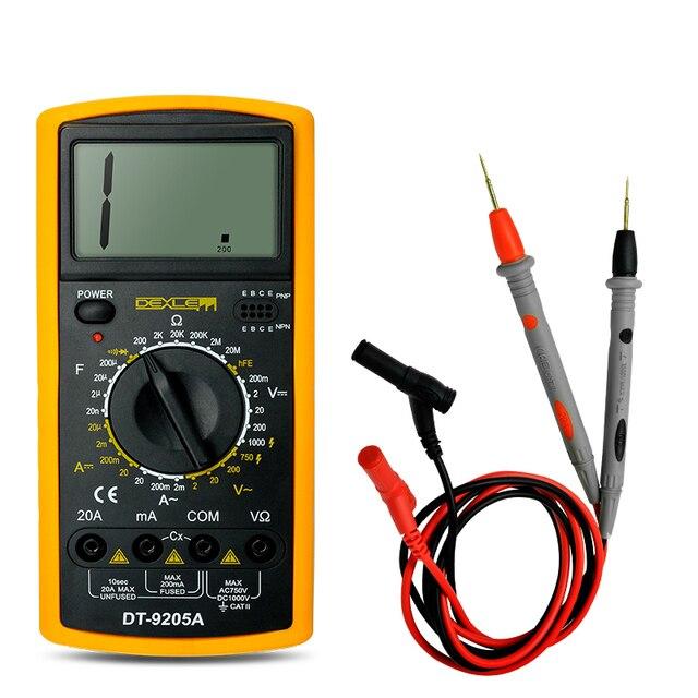 yaogong digital multimeter manual dt9205a in multimeters from tools rh aliexpress com