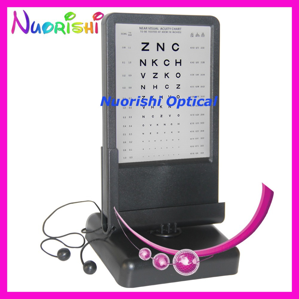 W0904 letters 40cm near testing led illuminated visual acuity w0904 letters 40cm near testing led illuminated visual acuity vision chart double side reading back with amsler grid chart in eyewear frames from mens nvjuhfo Images
