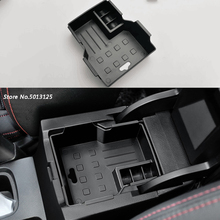 Car Central Armrest Storage Box Container Interior Stowing Tidying Accessories For Suzuki Vitara 2016 2017 2018 2019 Accessories