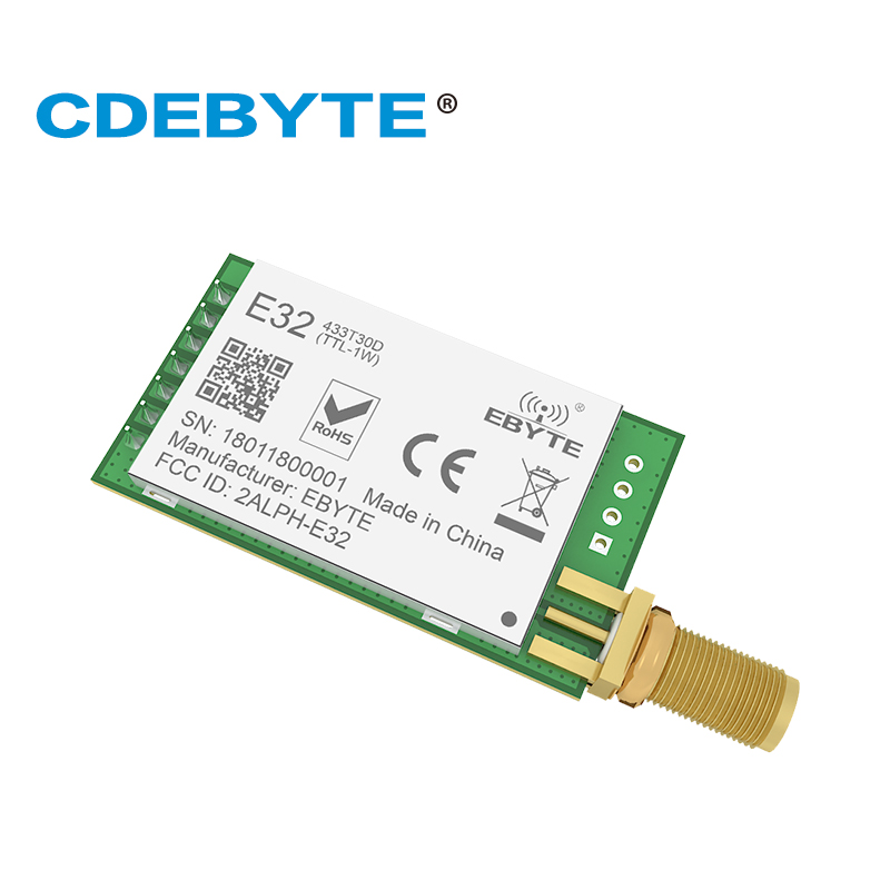 Image 3 - E32 433T30D Lora Long Range UART SX1278 433mhz 1W SMA Antenna IoT