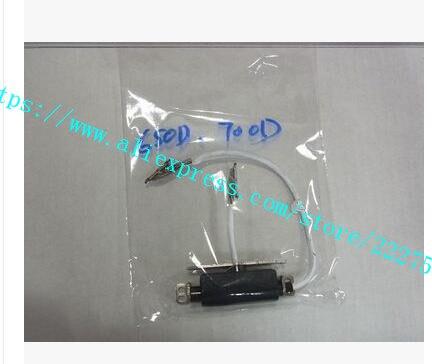 Arbre connecté à l'écran LCD flip d'origine avec câble flexible pièces de réparation de charnière LCD pour Canon pour appareil photo reflex EOS 650D 700D