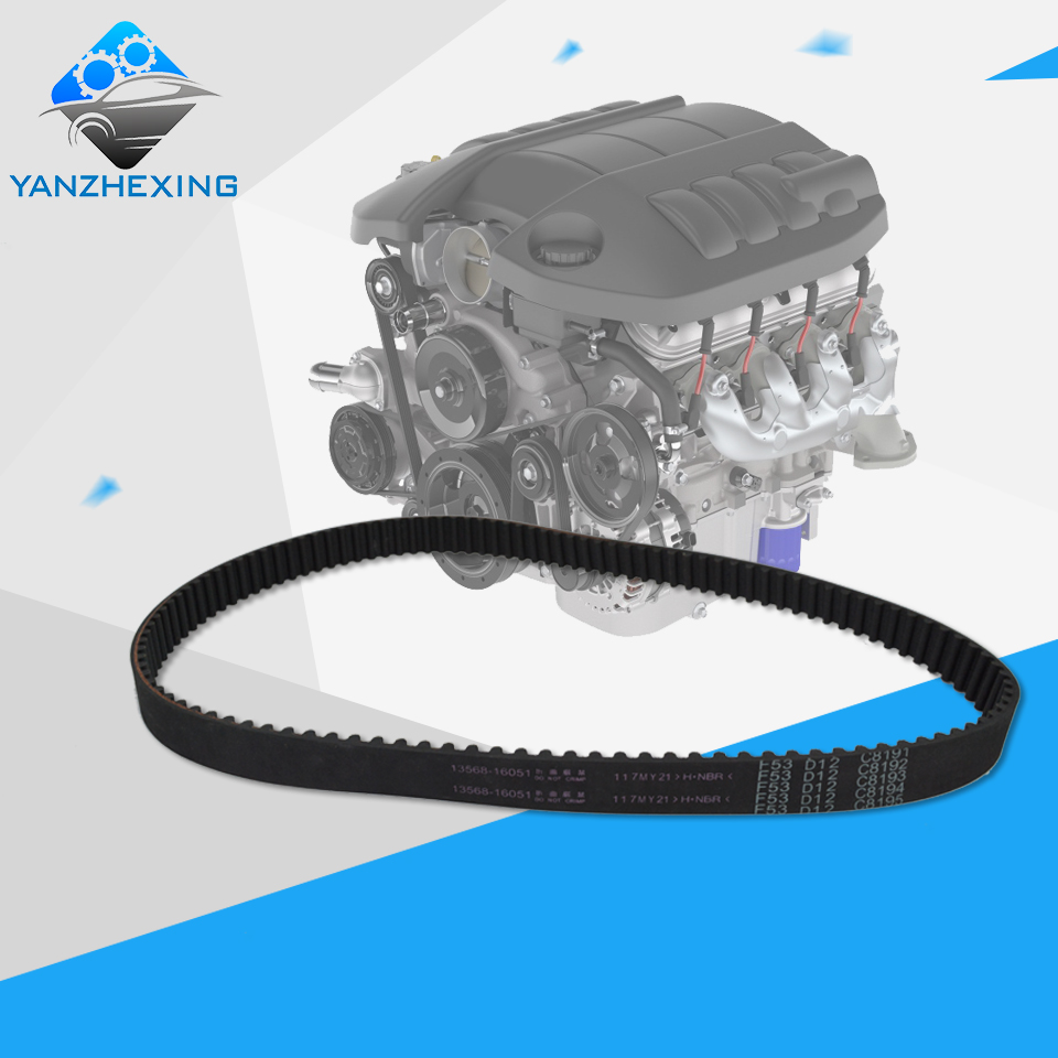 Timing Belt Oem13568 16051 117my21 For Toyota Corolla Carina Saab 9 5 01 Avensis Teeth117 Width21mm Length936mm In Belts Pulleys Brackets From Automobiles