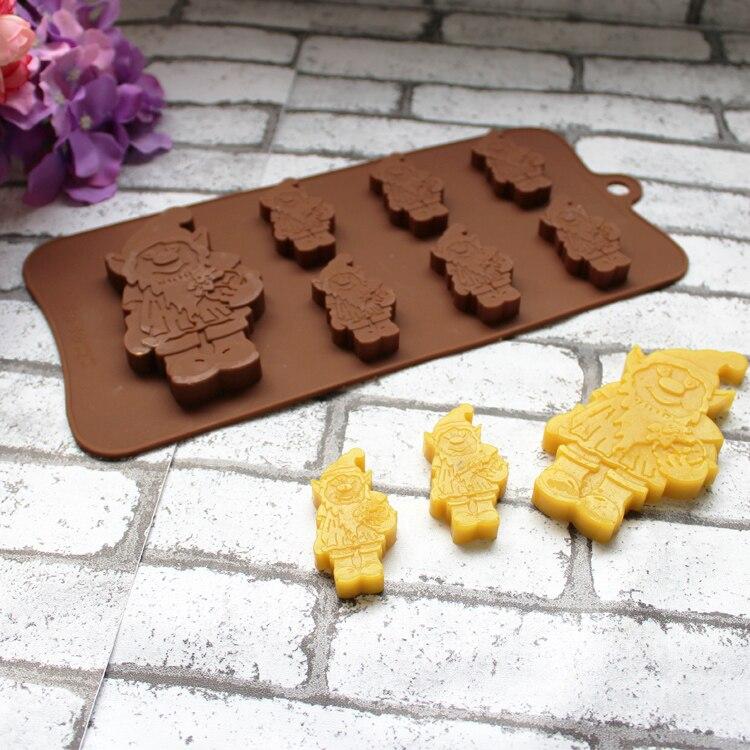 Kreative Silikon Weihnachten Kuchen Formen Schokolade Cookies Eis ...