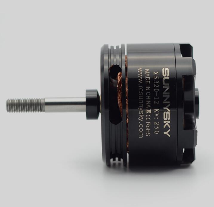 SunnySky X5320 210KV 250KV 370KVสูงประสิทธิภาพมอเตอร์b rushlessสำหรับ3D s tuntจมูก-ใน ชิ้นส่วนและอุปกรณ์เสริม จาก ของเล่นและงานอดิเรก บน   3