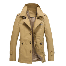 Jacket Men Casual Overcoat Jackets jaquetas de couro Hommes Plus size