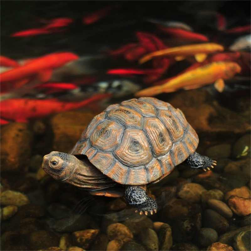 S/M/L Home Garden Ornament Outdoor Yard Garden Tortoise Art Resin Turtle Animal Figurine Statues Decoration Decor