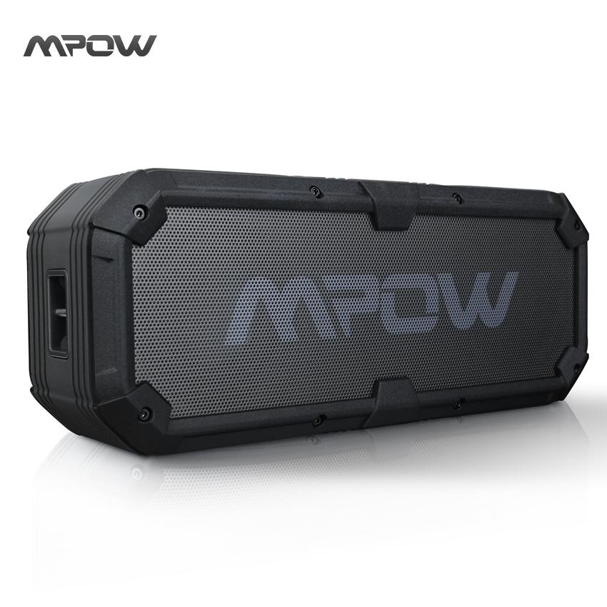 Prix pour Mbs7 nouveau mpow armure plus portable bluetooth haut-parleur ipx5 étanche antichoc mic mains libres appel barre de son haut-parleurs haut-parleurs