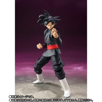 Anime Dragon Ball Z SHF Figuarts Super Saiyan Gokou Black Joint Movable Action Figure Collection Model Kids Toy Doll 15cm