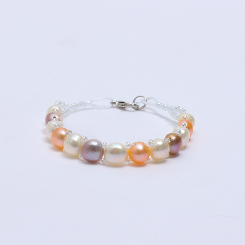 Hot Sale Pearl Bracelet Womens Natural Freshwater