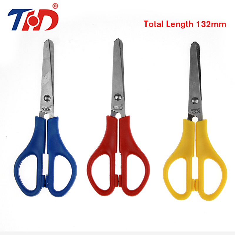 THD 3 Pcs 132 Mm/5.2 Inch Stainless Steel Office Cutting Scissors Diy Crafts Office Tailor Needlework Scissors For Home Workshop