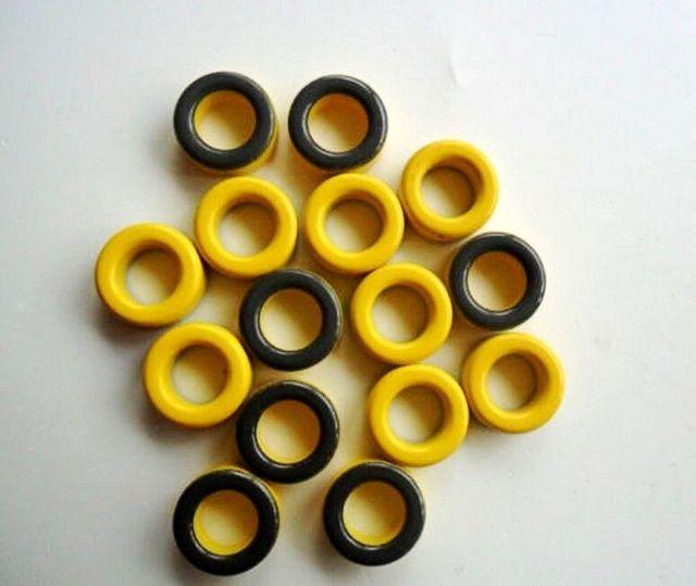10 قطع micrometals amidon T50 6 مسحوق الحديد حلقي حلقية الأساسية rf هام qrp