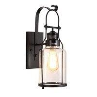 Modern Wall Lamp Glass Cover Light DIY Lighting Cafe Art Home Exterior Lanterns Vintage Outdoor Lighting