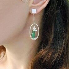 Nea Sterling Silver Drop Earrings