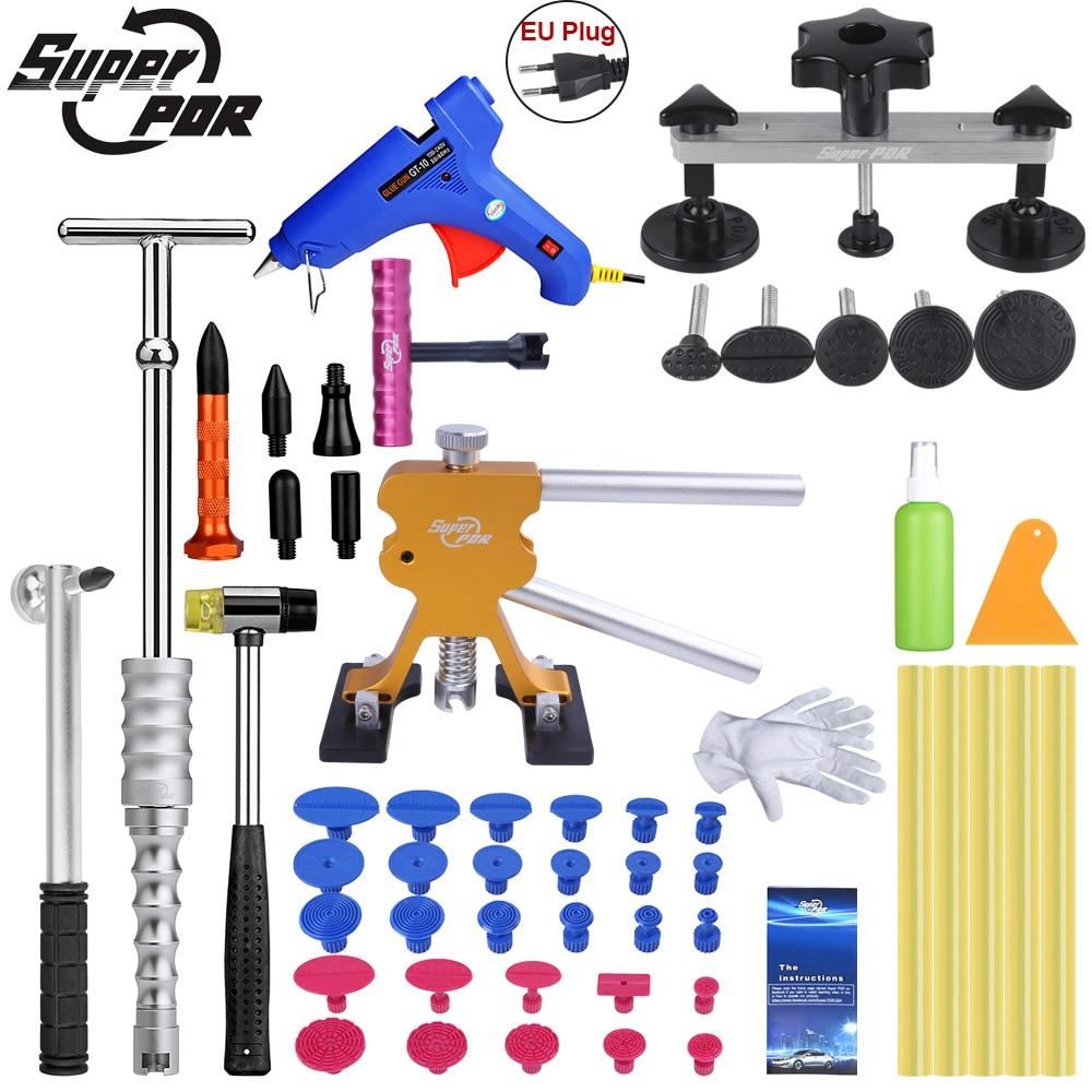 Super outils de rechange Paintless Dent outil de réparation Auto Dent Puller Ventouse Chaude Adhésif bâtons de colle Pour pistolet à colle Chaude Tirer Pont