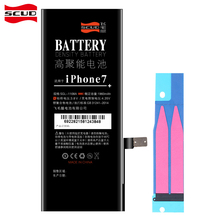 SCUD Mobile Phone Battery For iPhone 7 Real Capacity 1960mAh Batteries real capacity