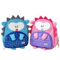 Korea anti lost Kindergarten Cartoon School Bags Child Animal Toys Baghedgehog 2 6 Girls Boys Cute School Backpacks
