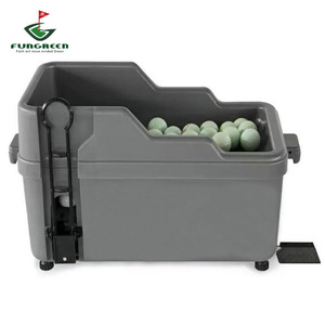 Image 1 - FUNGREEN Distributore di Mezza Automatico Pallina Da Golf Golf Club Organizzatore Nessun Potere No Elettricità Necessaria di Pratica di Golf Indoor Attrezzature