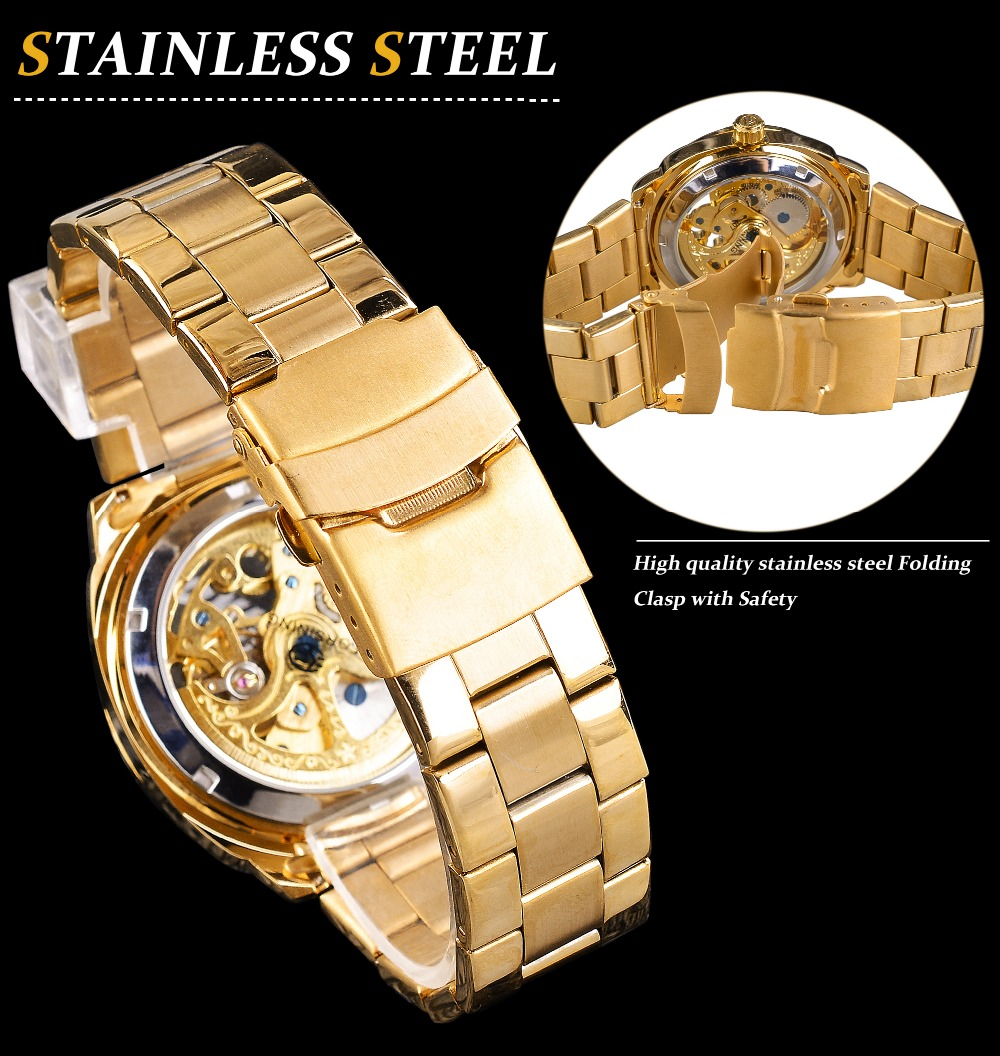 HTB1HRSuCv5TBuNjSspmq6yDRVXaH Forsining 2018 Fashion Retro Men's Automatic Mechanical Watch Top Brand Luxury Full Golden Design Luminous Hands Skeleton Clock
