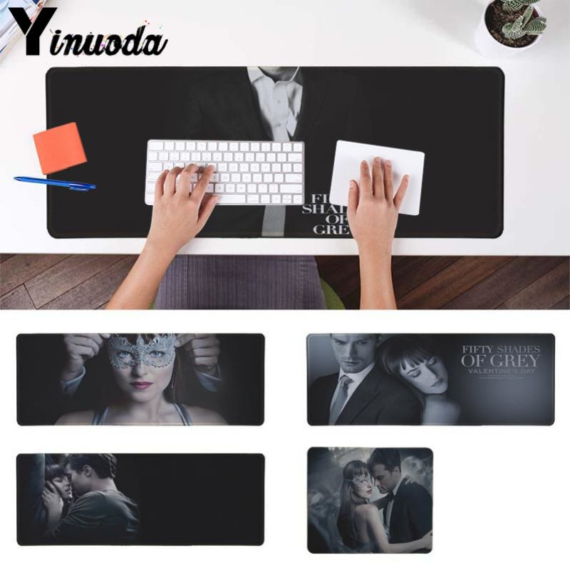 Yinuoda Non Slip PC Fifty Shades of Grey High Speed New Mousepad Size for 18x22cm 20x25c ...