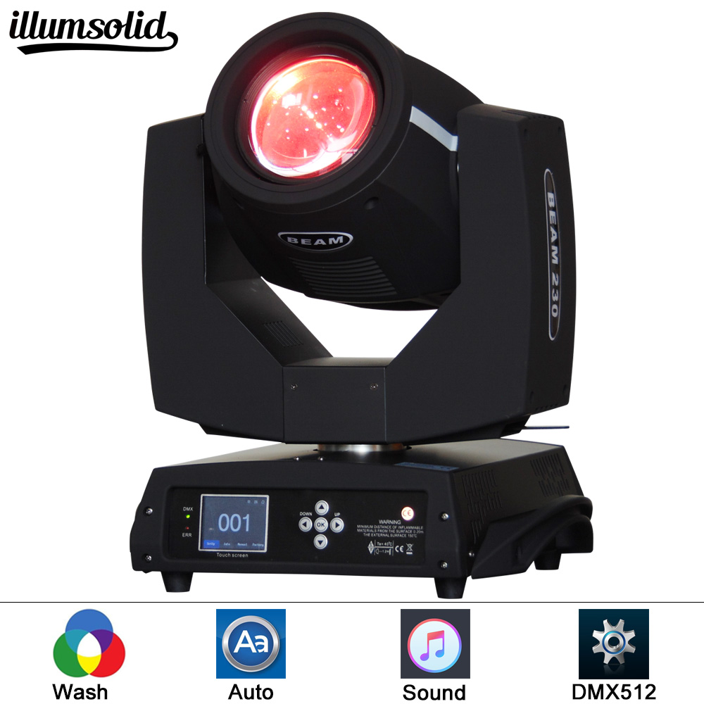 China supplier factory 230w sharpy beam 7r moving head light for sale dj equipment stage lighting beam 230w clay paky sharpy moving head lyre beam 7r moving head 230 moving head flycase dmx stage dj disco party stage lighting