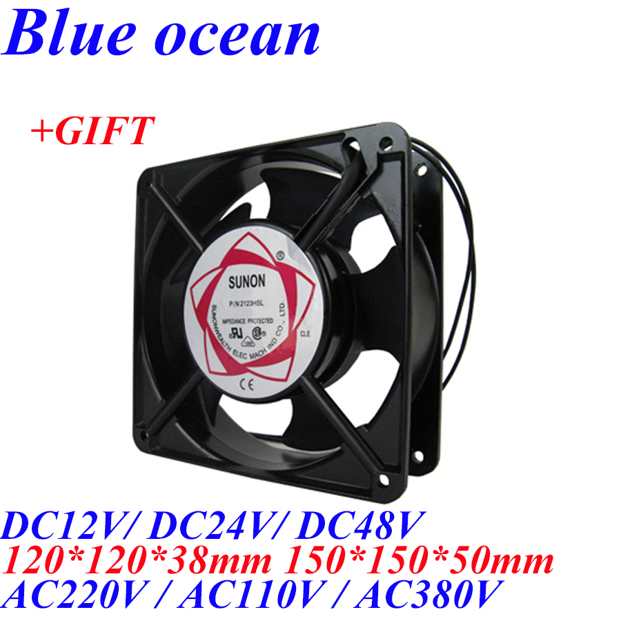 BO-150150F, AC220V/AC110V/AC380V/DC12V/DC24V/DC48V 150mm 120mm machine radiator fan ozone generator accessories strong cooling