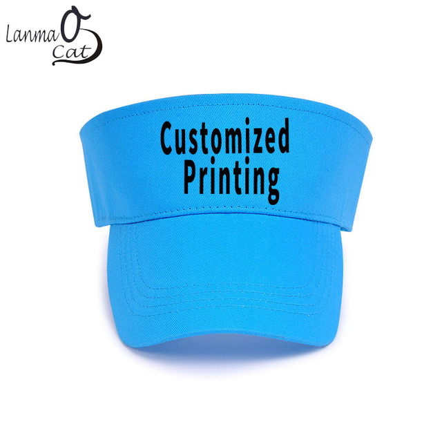 Lanmaocat Children Hats Girls Boy Cap Custom Kids Summer Camp Print Empty  Top Children Hats Customization Free Shipping b6c2209f08a
