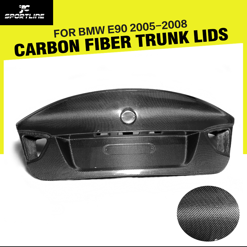 Car-Styling Carbon Fiber Rear Trunk Luggage For BMW 3 Series CSL E90 2005-2008