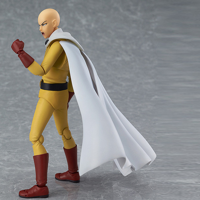 Anime Saitama One Punch Man Figma 310 PVC Action Figure Collectible Model Toys 5