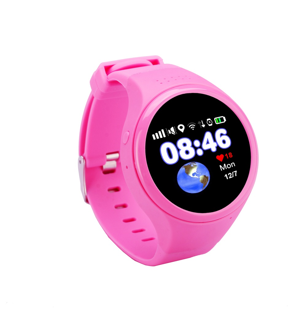 ФОТО 1.22 inch Touch Screen GPS Positioning WIFI LBS AGPS Tracking Children Old T88 Kid Smart Watch SOS Passometer Baby Safe Monitor