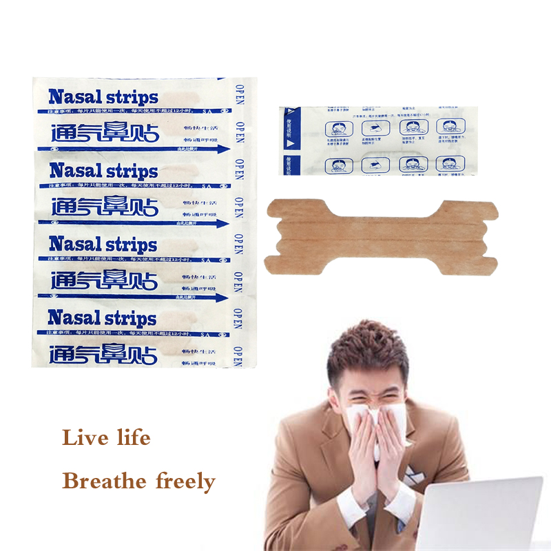 10pcs Hot Selling Anti Snore Strips Easier Better Breathe Breathe Right Better Nasal Strips To Stop Snoring