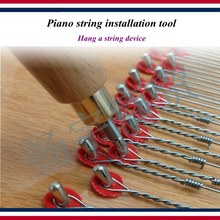 Piano tuning tools accessories string installation tool Hang a device repair parts