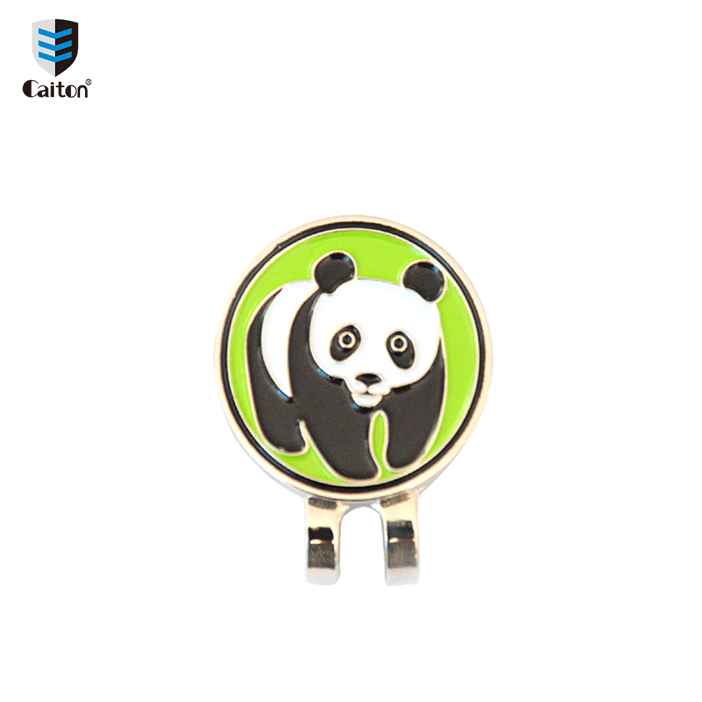 Image 2 - Caiton Cute animal Golf Ball Markers with Magnetic Hat Clip Golf Accessories-in Golf Training Aids from Sports & Entertainment