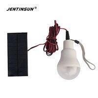 Solar Panel Power Light Waterproof Outdoor LED Solar Lights Home Garden Lamps LED ABS Bulb Lighting