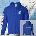 Guatemala mens hoodies and sweatshirt jerseys polo sweat suit streetwear tracksuit nation fleece zipper flag Guatemalan GTM 2017