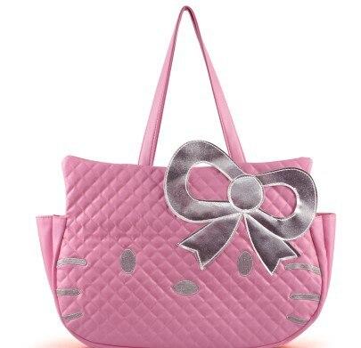 a599c638dd3 Hello Kitty Leather like Tote Bag Purse Handbags Women handbags women  messenger bags hello kitty bags Free Shipping-in Shoulder Bags from Luggage    Bags on ...