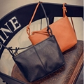 Hanup 2016 Brand Summer Style Lady Messenger Bag Fashion PU Leather Satchel Shoulder Bag Crossbody Handbag Gift