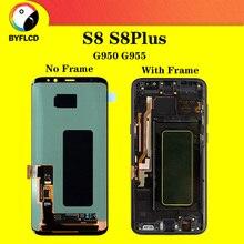 Écran LCD dorigine pour Samsung Galaxy S8 G950 G950F pour Samsung S8 Plus lcd G955 G955F écran tactile daffichage dombre brûlant